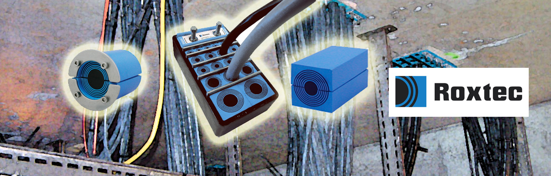 Fire Gas Water Tight Seals For Cables From Roxtec